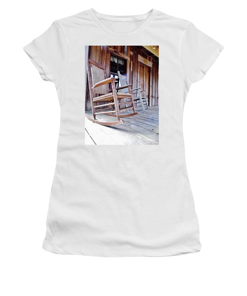 Rocking On The Front Porch Women's T-Shirt