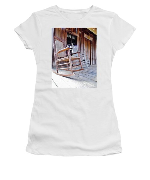 Rocking On The Front Porch Women's T-Shirt (Athletic Fit)