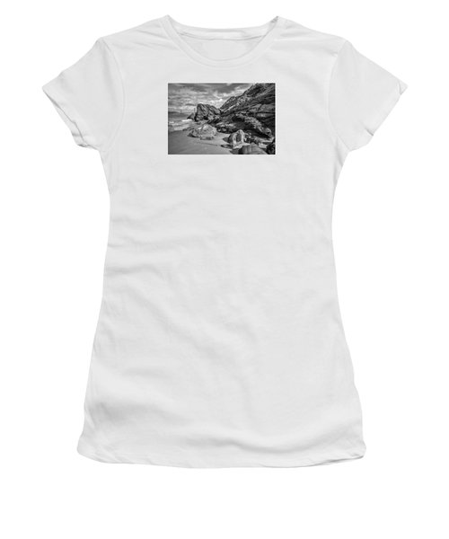 Rocky China Beach San Francisco Women's T-Shirt (Athletic Fit)