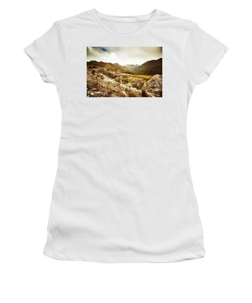 Rocky Valley Mountains Women's T-Shirt