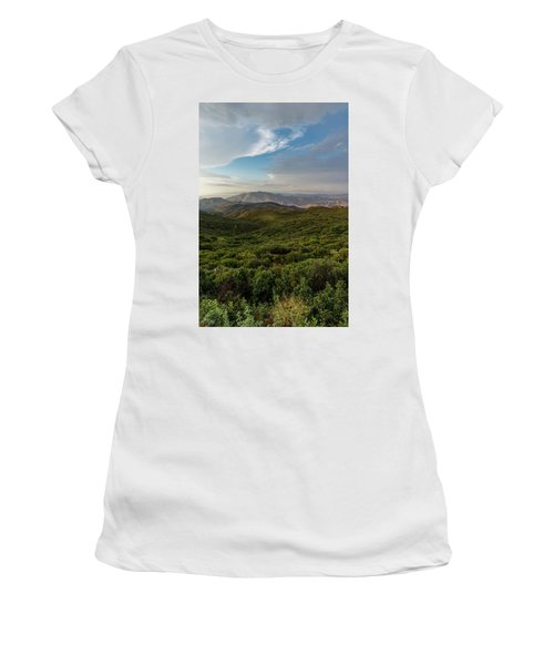Rolling Hills Of Chaparral Women's T-Shirt