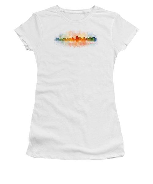 Rome City Skyline Hq V03 Women's T-Shirt