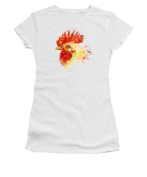 Rooster Head Women's T-Shirt