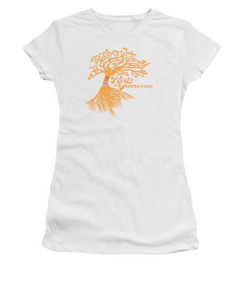 Roots In Tn Orange Women's T-Shirt (Athletic Fit)