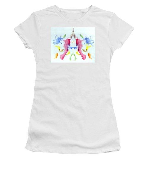 Rorschach Test Card No. 10 Women's T-Shirt