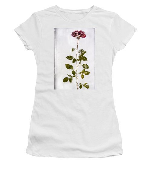 Rose Frozen Inside Ice Women's T-Shirt