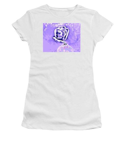 Rose In Creative Vase Women's T-Shirt