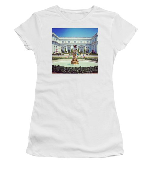A Luxurious Afternoon  Women's T-Shirt (Athletic Fit)