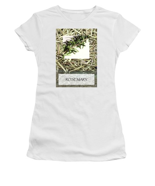 Rosemary Women's T-Shirt (Athletic Fit)