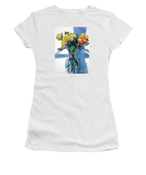 Roses In Vase Still Life I Women's T-Shirt