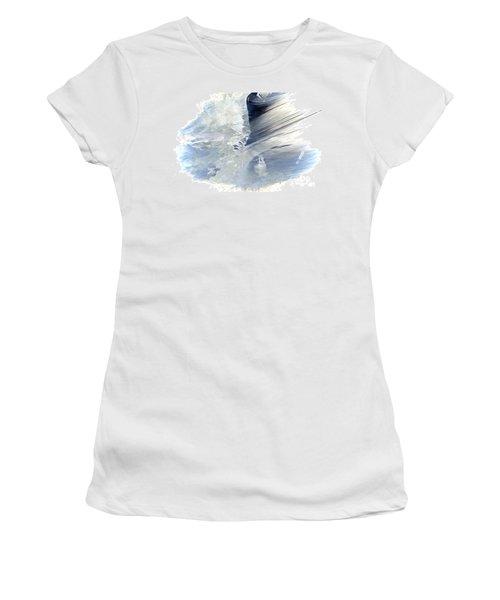 Rough Yet Peaceful Women's T-Shirt (Junior Cut) by Margie Chapman