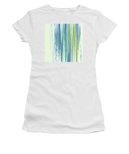Rainy Street Women's T-Shirt (Athletic Fit)