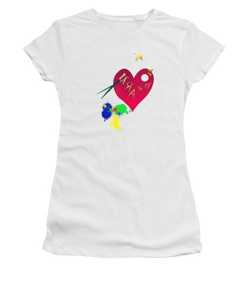 Rubellite By V.kelly Women's T-Shirt (Athletic Fit)