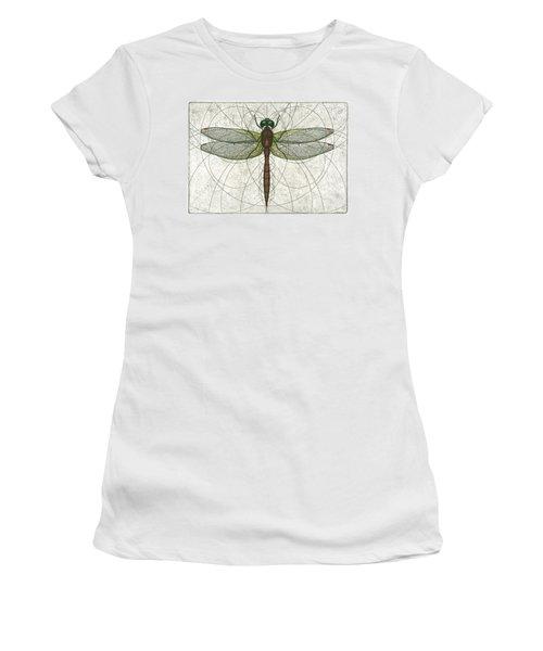Ruby Meadowhawk Dragonfly Women's T-Shirt