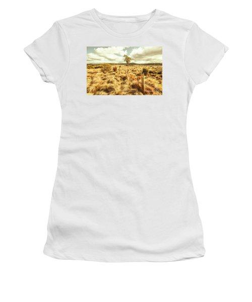 Rugged Australian Pastures Women's T-Shirt