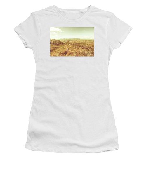 Rugged Bushland View Women's T-Shirt