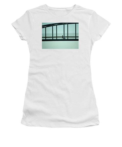 Running On Air Women's T-Shirt (Athletic Fit)
