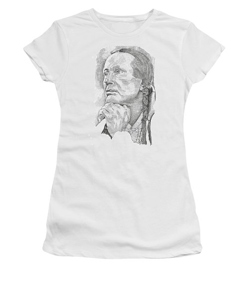 Russell Means Women's T-Shirt (Athletic Fit)
