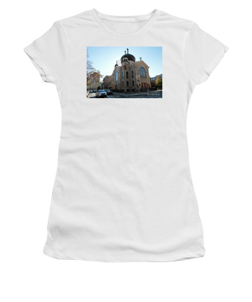 Russian Orthodox Cathedral Of The Transfiguration Of Our Lord Women's T-Shirt