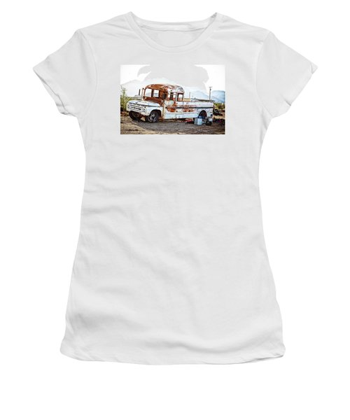 Rusted Abandoned Truck Women's T-Shirt
