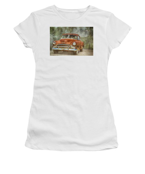 Rusty Women's T-Shirt (Junior Cut) by Pamela Williams