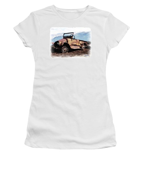 Rusty Women's T-Shirt (Athletic Fit)
