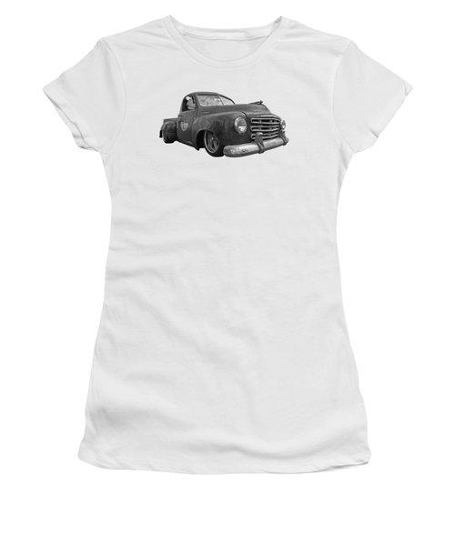 Rusty Studebaker In Black And White Women's T-Shirt