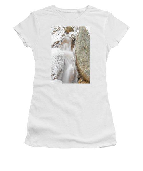 Ruxton Of Manitou  Women's T-Shirt (Junior Cut) by Bijan Pirnia