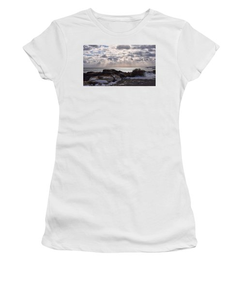 Rye In Winter Women's T-Shirt (Athletic Fit)
