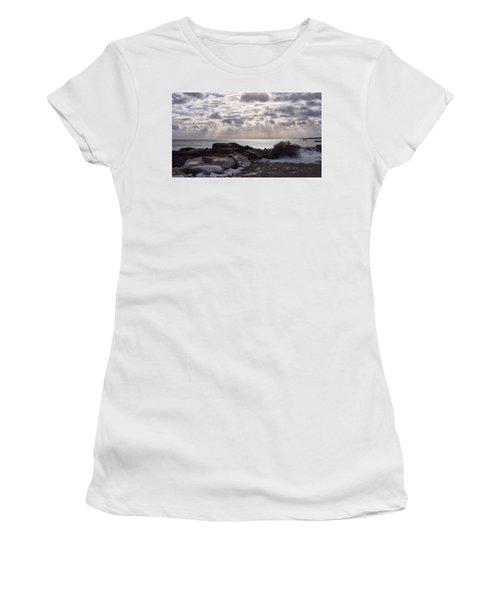 Rye In Winter Women's T-Shirt (Athletic Fit)