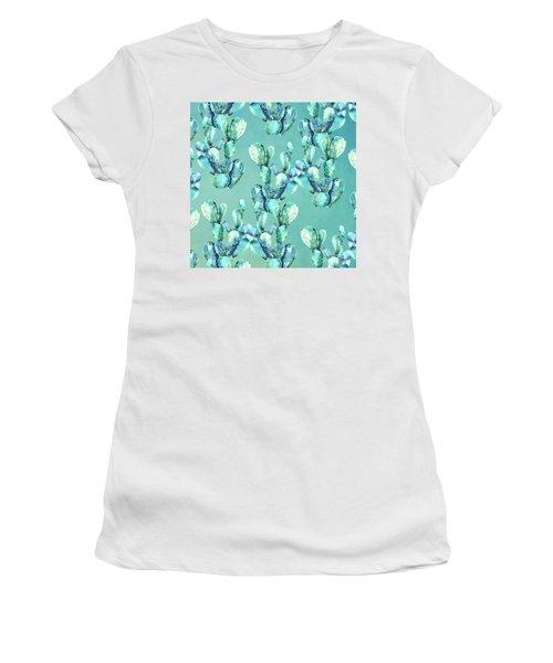 Sabers Tropical  Women's T-Shirt