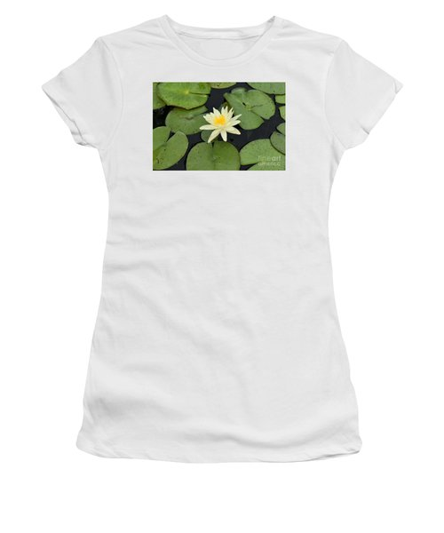 Sacred Lotus Women's T-Shirt (Athletic Fit)