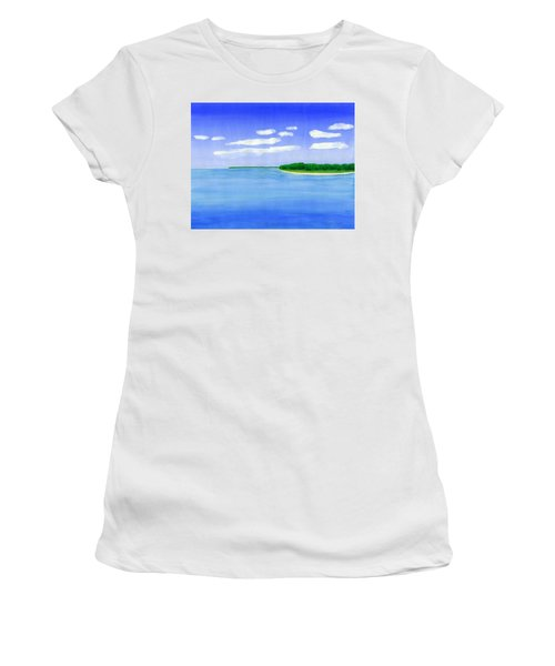 Sag Harbor, Long Island Women's T-Shirt (Athletic Fit)