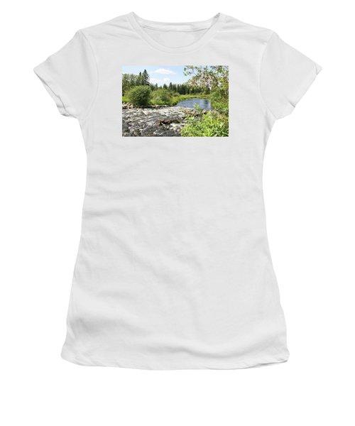 Saginas Lake Women's T-Shirt
