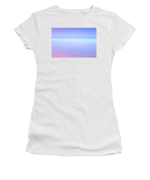 Women's T-Shirt (Athletic Fit) featuring the photograph Sailing Away by Az Jackson