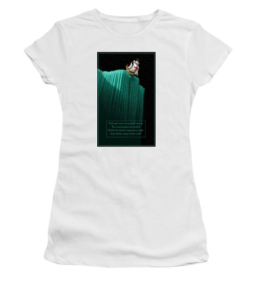 Sailing Off The Edge Of The World Women's T-Shirt