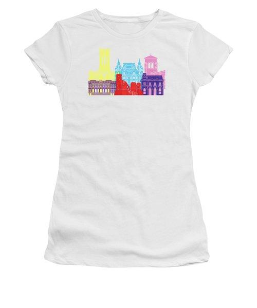 Saint Etienne Skyline Pop Women's T-Shirt