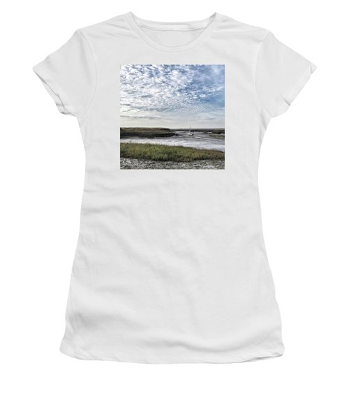 Salt Marsh And Creek, Brancaster Women's T-Shirt