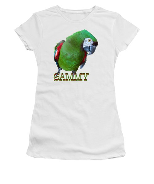 Sammy The Severe Women's T-Shirt (Athletic Fit)