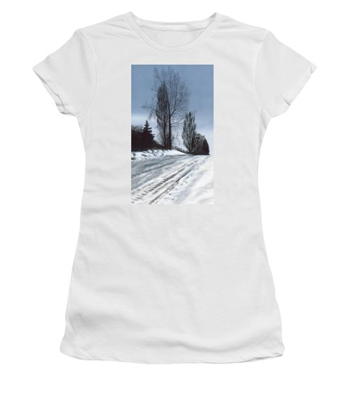 San Juan Snow Women's T-Shirt (Athletic Fit)