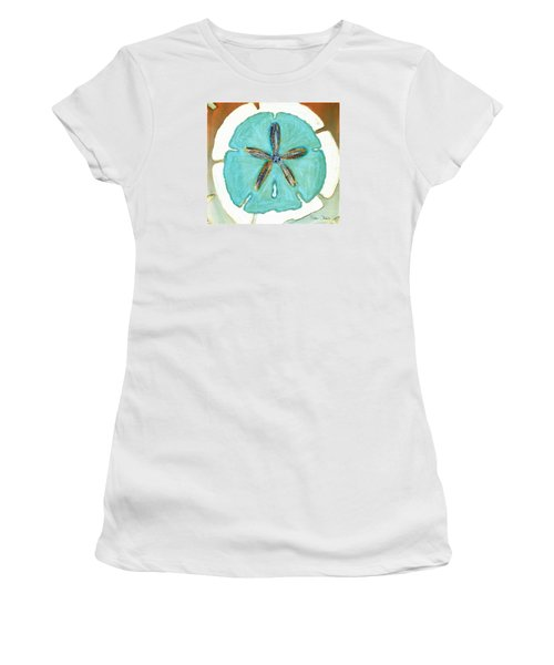 Sand Dollar Star Attraction Women's T-Shirt (Athletic Fit)