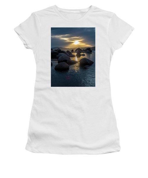 Sand Harbor Light Women's T-Shirt