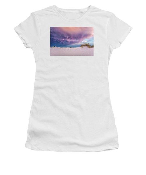 Sand Storm Women's T-Shirt (Athletic Fit)