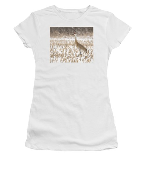 Sandhill Crane 2016-3 Women's T-Shirt