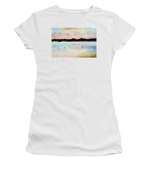 Sandpipers Women's T-Shirt (Athletic Fit)