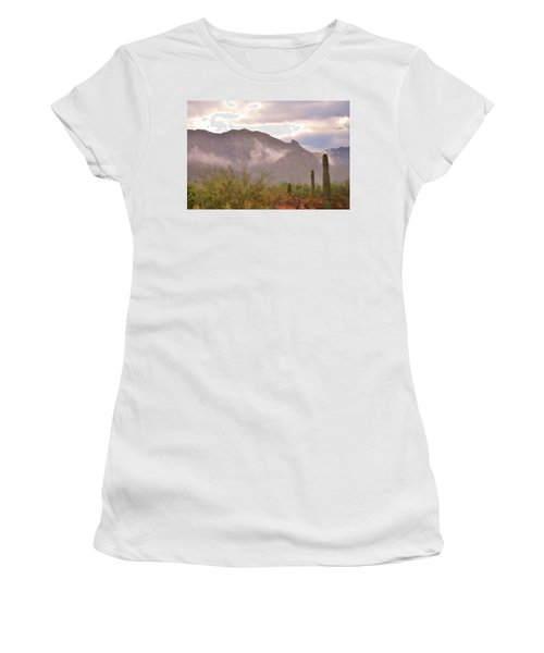 Santa Catalina Mountains II Women's T-Shirt (Athletic Fit)