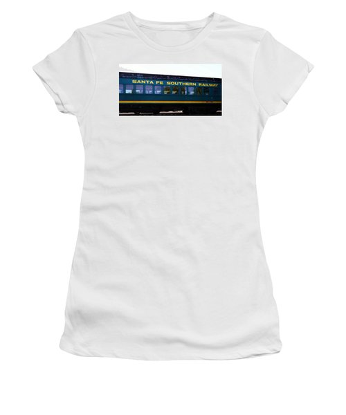 Santa Fe Train Women's T-Shirt (Athletic Fit)