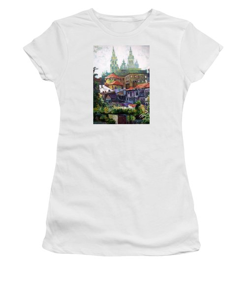 Santiago  Spain Women's T-Shirt (Junior Cut) by Paul Weerasekera