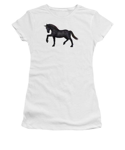 Satin Women's T-Shirt (Athletic Fit)