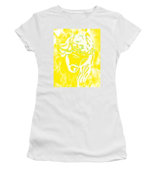 Women's T-Shirt featuring the mixed media My Father's Will by Jessica Eli